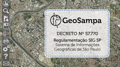 Prefeitura publica decreto que oficializa o GeoSampa como a base oficial da cidade