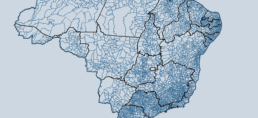 IBGE atualiza listagem de municípios que integram recortes territoriais
